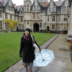 Virginia Whealton at Oxford GPSO Travel Grant